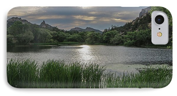 Granite Basin Lake Sunset IPhone Case by Teresa Wilson