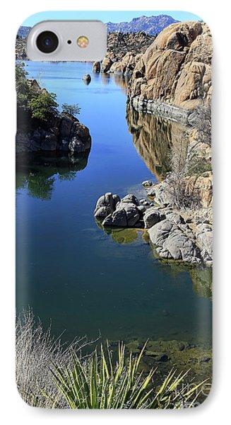 Granite Dells 2 IPhone Case by Teresa Zieba