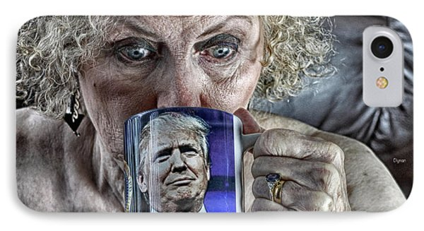 Grannies For Trump  IPhone Case by Steven Digman