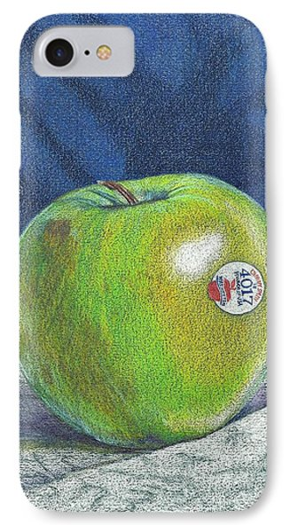 IPhone Case featuring the painting Granny Smith by Robert Decker