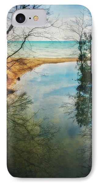 Grant Park - Lake Michigan Shoreline IPhone Case by Jennifer Rondinelli Reilly - Fine Art Photography