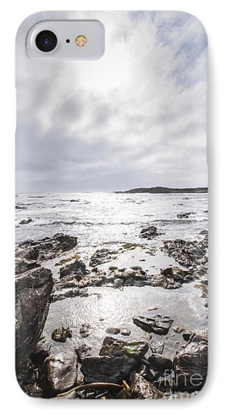 Granville Harbour Seascape IPhone Case by Jorgo Photography - Wall Art Gallery