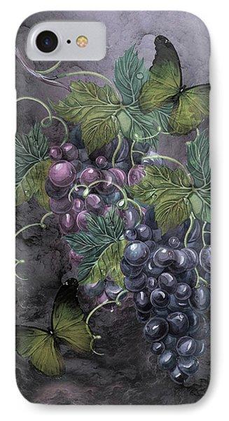 Grape Clusters IPhone Case