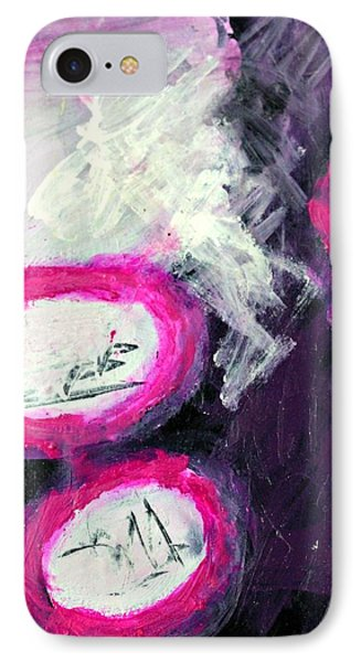 Grape Fizzies Phone Case by Shelley Graham Turner