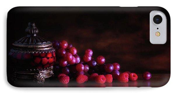 Grape Raspberry IPhone 7 Case by Tom Mc Nemar