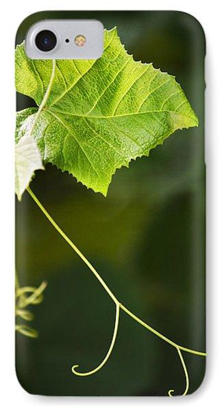 Grape Vine Phone Case by Christina Rollo