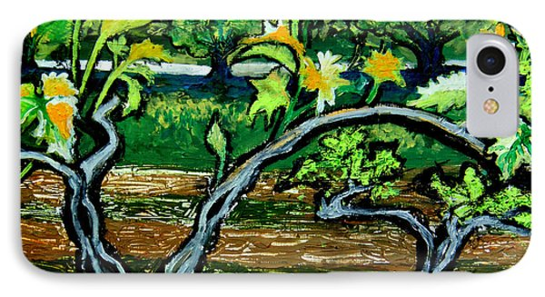 Grape Vines In Augusta Wine Country IPhone Case by Genevieve Esson