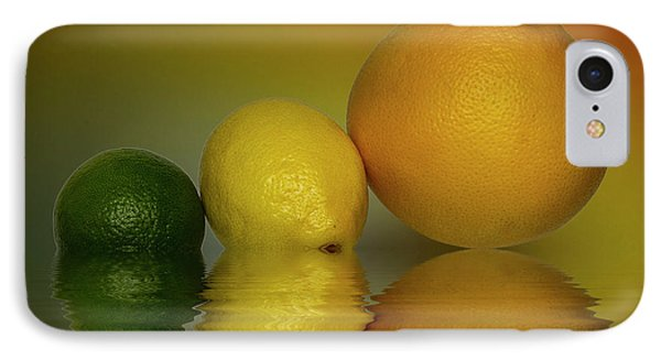 IPhone Case featuring the photograph Grapefruit Lemon And Lime Citrus Fruit by David French