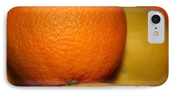 Grapefruit Orange Phone Case by Joshua Sunday