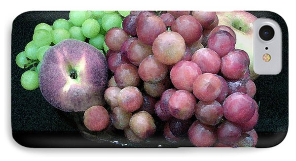 Grapes And Fruit Phone Case by Sandi OReilly