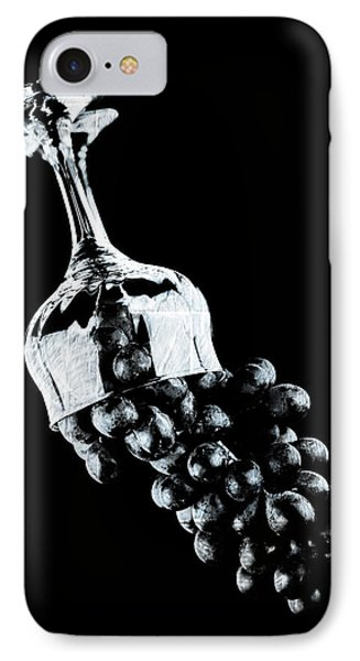 Grapes In A Glass  IPhone Case