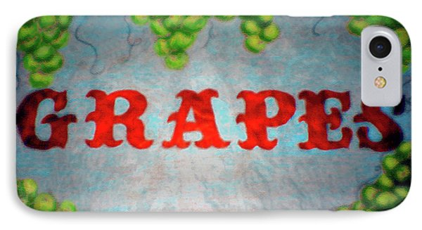 Grapes Phone Case by Lisa Stanley