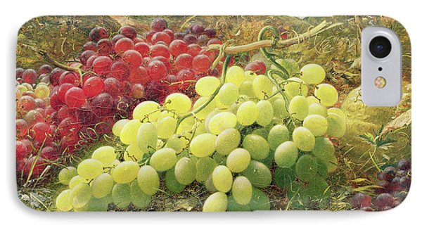 Grapes IPhone Case by William Jabez Muckley
