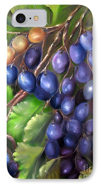 Grapevine Phone Case by Carol Sweetwood