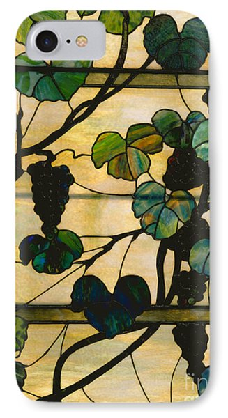 Grapevine Panel IPhone Case by Louis Comfort Tiffany