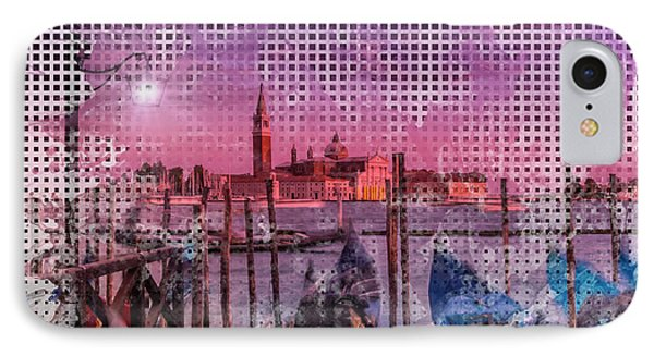 Graphic Art Venice Gorgeous Sunset IPhone Case