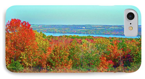 Graphic Autumn Glory IPhone Case by Aimee L Maher Photography and Art Visit ALMGallerydotcom