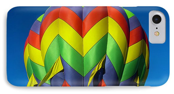 Graphic Hot Air Balloon IPhone Case by Garry Gay