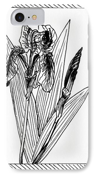 Graphic Iris IPhone Case