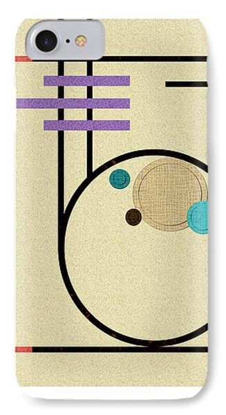 Graphics In The Sand Phone Case by Tara Hutton