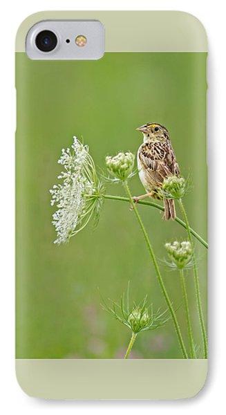 Grasshopper Sparrow IPhone Case