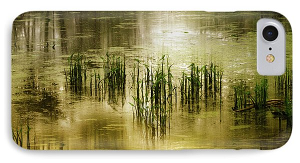 IPhone Case featuring the photograph Grassland Abstract by Jessica Jenney