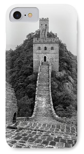 IPhone 7 Case featuring the photograph Great Wall 1, Jinshanling, 2016 by Hitendra SINKAR