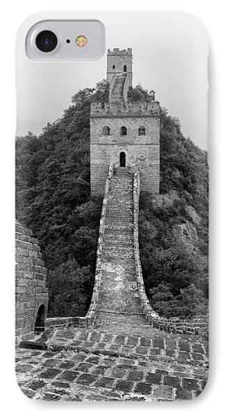 IPhone Case featuring the photograph Great Wall 1, Jinshanling, 2016 by Hitendra SINKAR