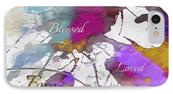 IPhone Case featuring the digital art Grateful To Be by Margie Chapman