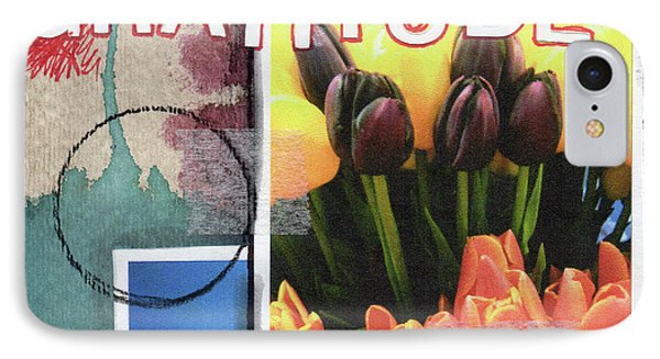 Tulip iPhone 7 Case - Gratitude- Art By Linda Woods by Linda Woods