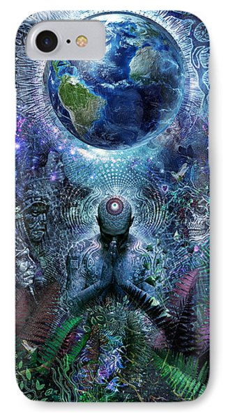 Gratitude For The Earth And Sky Phone Case by Cameron Gray
