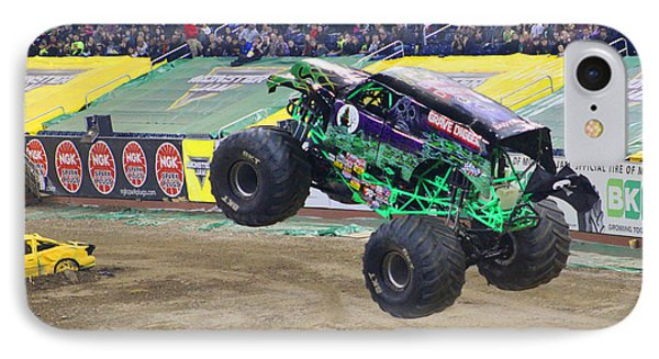 Grave Digger  IPhone Case by Michael Rucker