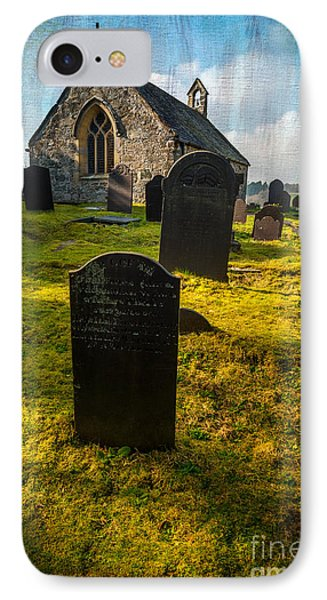 Grave Yard IPhone Case by Adrian Evans