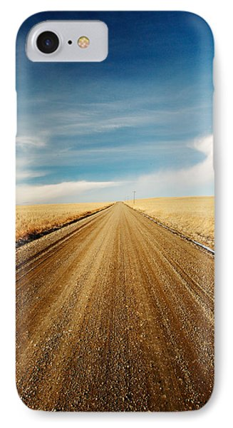 Gravel Lines IPhone Case by Todd Klassy
