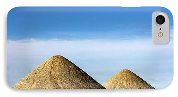 Gravel Pyramids IPhone Case by Todd Klassy