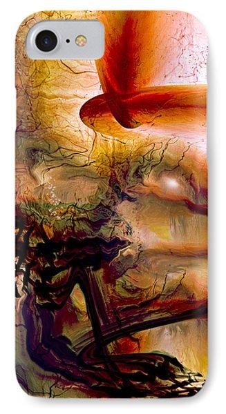 Gravity Of Love IPhone Case by Linda Sannuti