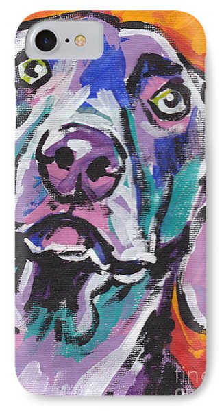 Gray Ghost IPhone Case by Lea S