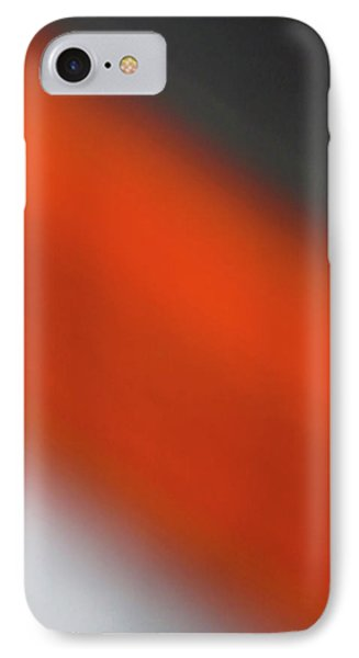 Gray Orange Grey IPhone Case