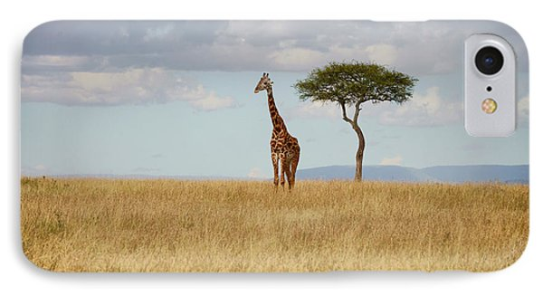 Grazing Giraffe IPhone Case