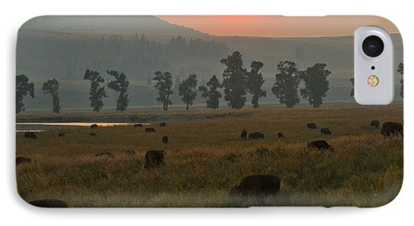 Grazing In The Smoke IPhone Case by Adam Jewell
