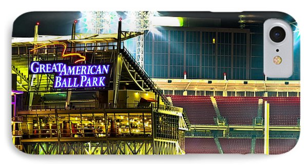 Great American Ballpark IPhone Case