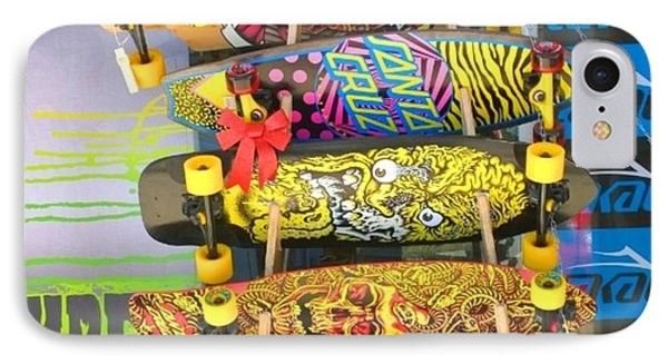 Great Art On These Skateboards! IPhone Case by Shari Warren