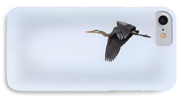 IPhone Case featuring the photograph Great Blue Heron 2017-1 by Thomas Young