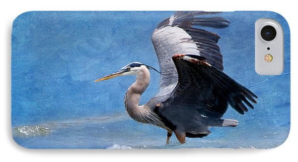 Great Blue Heron  IPhone Case by Betty LaRue