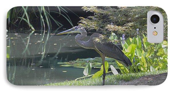 Great Blue Heron Phone Case by Linda Geiger