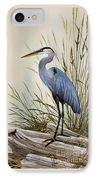 Great Blue Heron Shore IPhone 7 Case