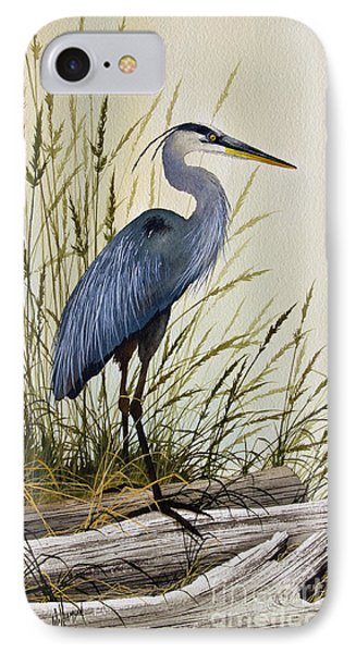 Great Blue Heron Splendor IPhone 7 Case