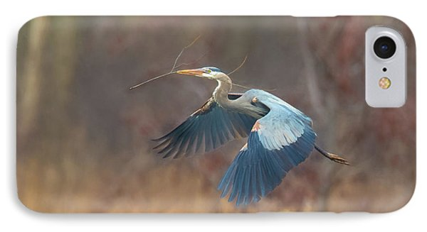 Great Blue IPhone Case by Kelly Marquardt