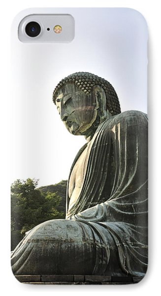 Great Buddha Of Kamakura Phone Case by Andy Smy