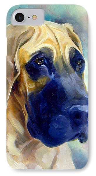 Great Dane Pup IPhone Case
